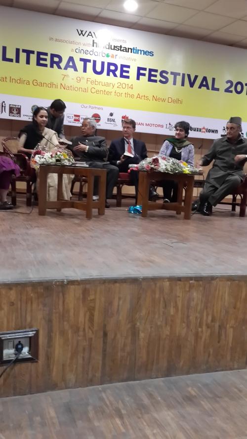 Hn'bl Dr. Karan Singh Inaugurating DLF-14