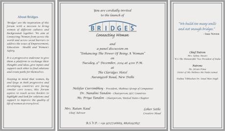 BRIDGES - A WOMEN'S EMPOWERMENT INITIATIVE